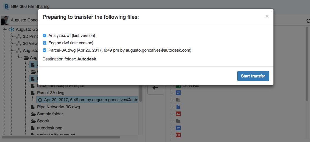 Transferring files with AWS Lambda | Autodesk Forge