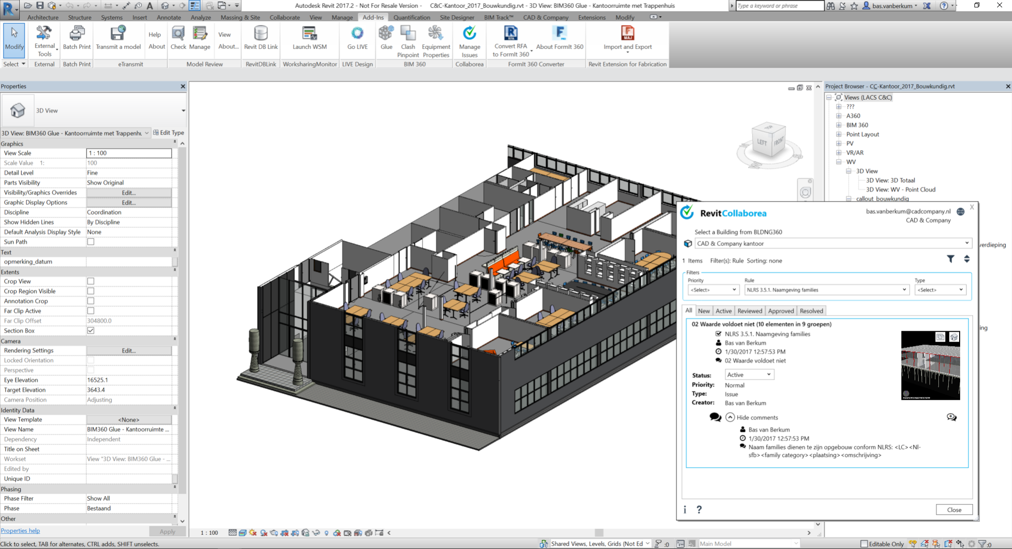 CAD & Company application