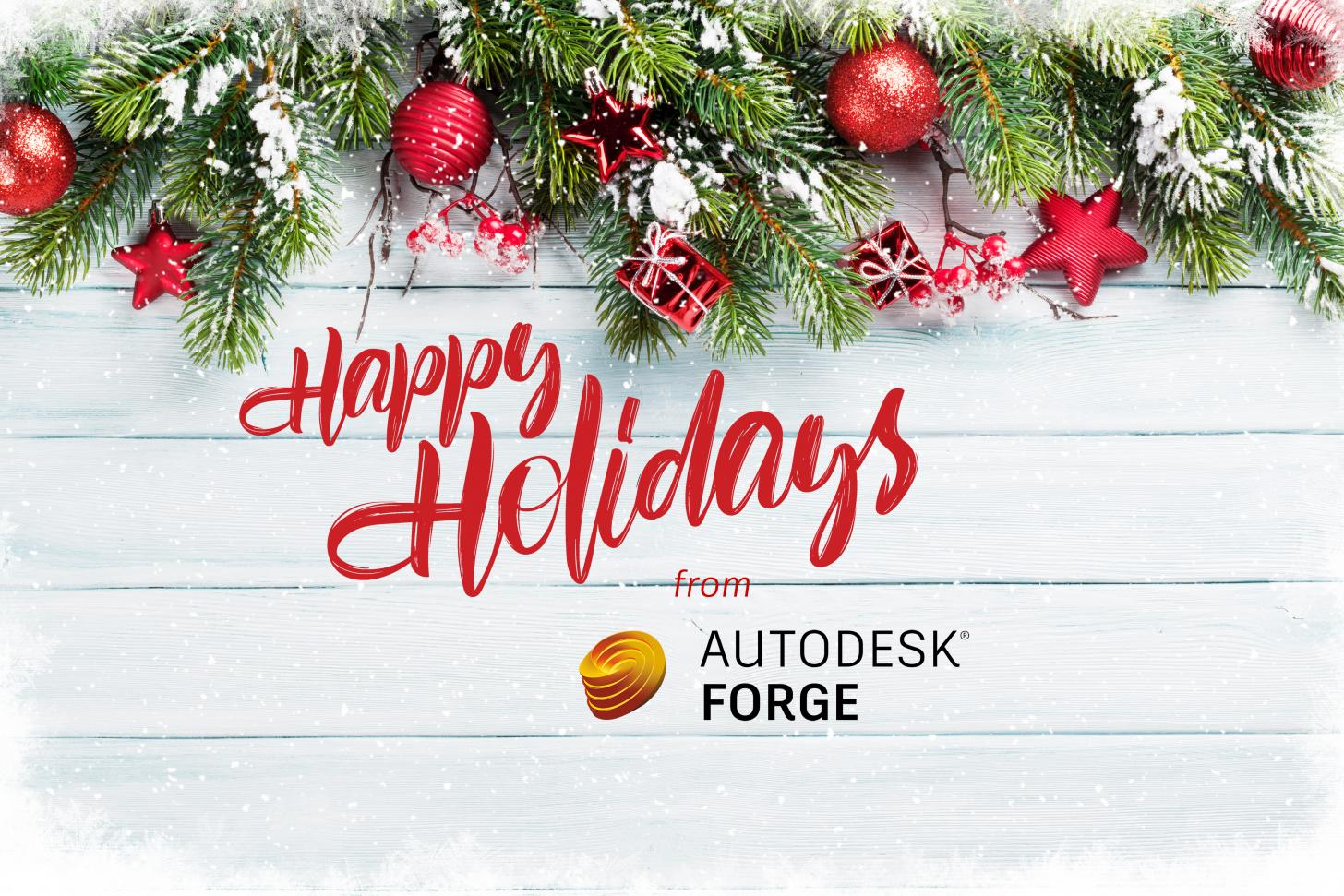 Happy holidays from Forge!