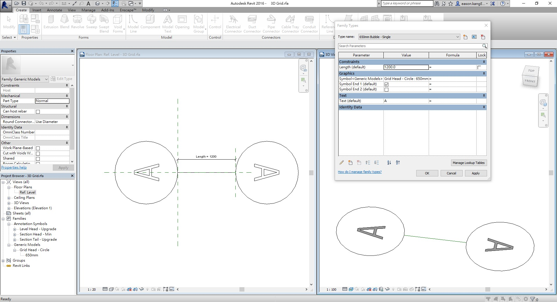 3D Grid RFA