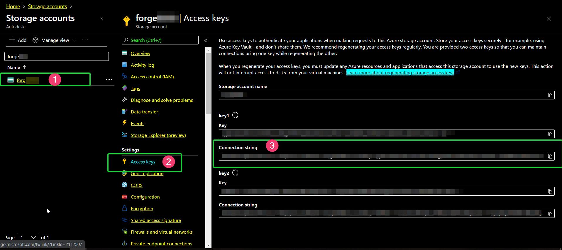 Azure-AccessKey
