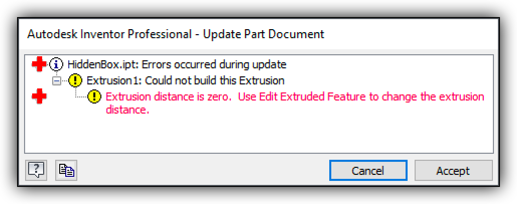 ErrorManager object