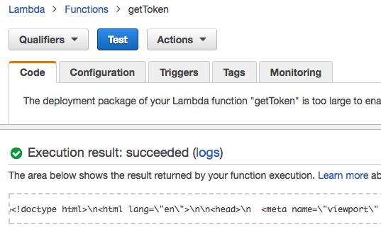 Running Forge Viewer on AWS Lambda Server and API Gateway