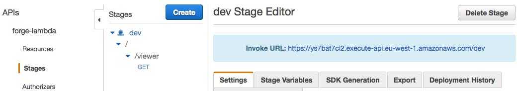 Running Forge Viewer on AWS Lambda Server and API Gateway   Autodesk