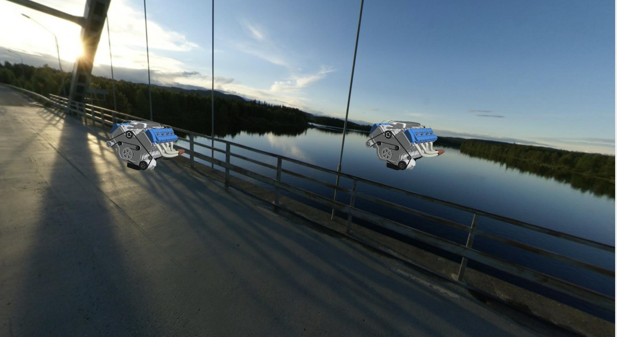 Skybox model in WebVR