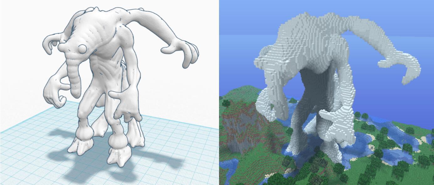 Minecraft Tinkercad