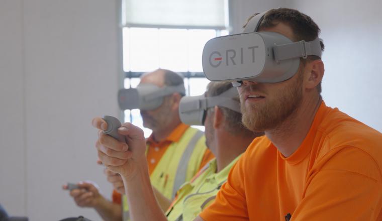 Grit Virtual teaser background